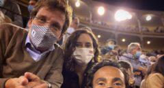 Ayuso publica otra foto en Las Ventas tras la censura de Instagram