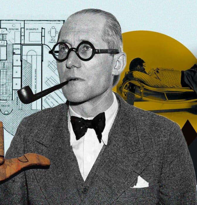 Le Corbusier, el hombre que unió el arte con las matemáticas y revolucionó la arquitectura
