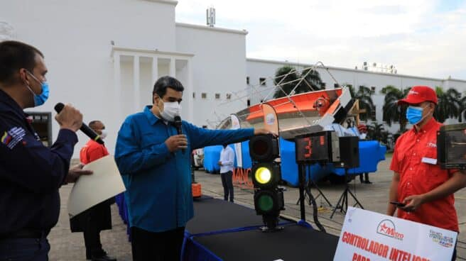 El dirigente venezolano, Nicolás Maduro.