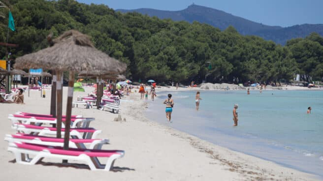 Playa en Mallorca
