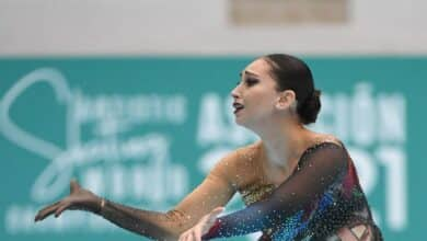 La malagueña oro mundial en patinaje, Natalia Baldizzone, llega a España