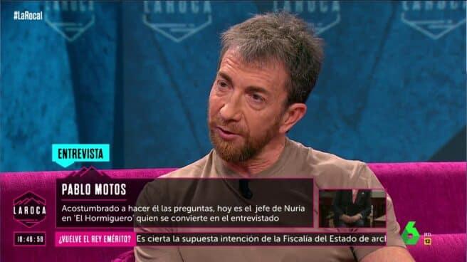 Pablo Motos en 'La Roca'