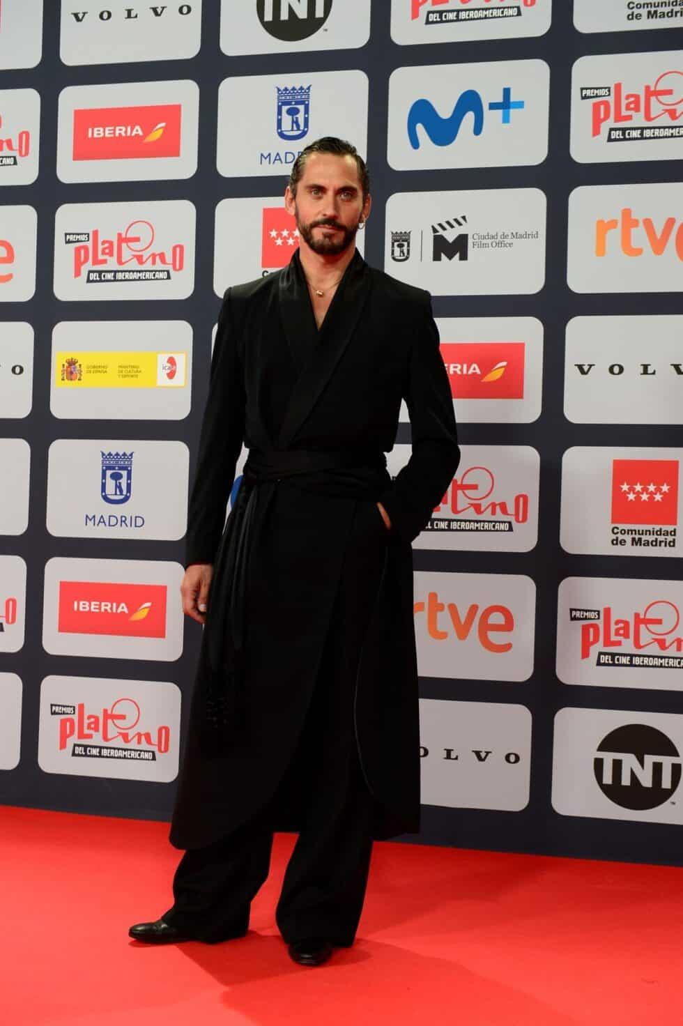 El actor Paco León, a su llegada a la ceremonia de entrega de los Premios Platino del Cine y el Audiovisual Iberoamericano que se celebra este domingo en Madrid
