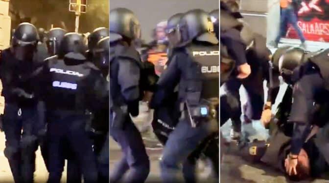 La otra pesadilla de Iván, el antidisturbios al que los 'indepes' jubilaron de una pedrada