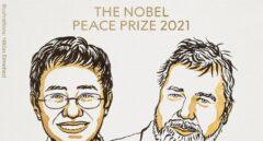 Los periodistas Maria Ressa y Dimitri Muratov, premios Nobel de la Paz