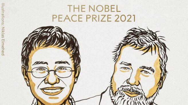 Premios Nobel de la Paz 2021.