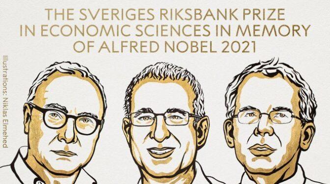 David Card, Joshua D. Angrist y Guido W. Imbens, premiados con el Nobel de Economía 2021