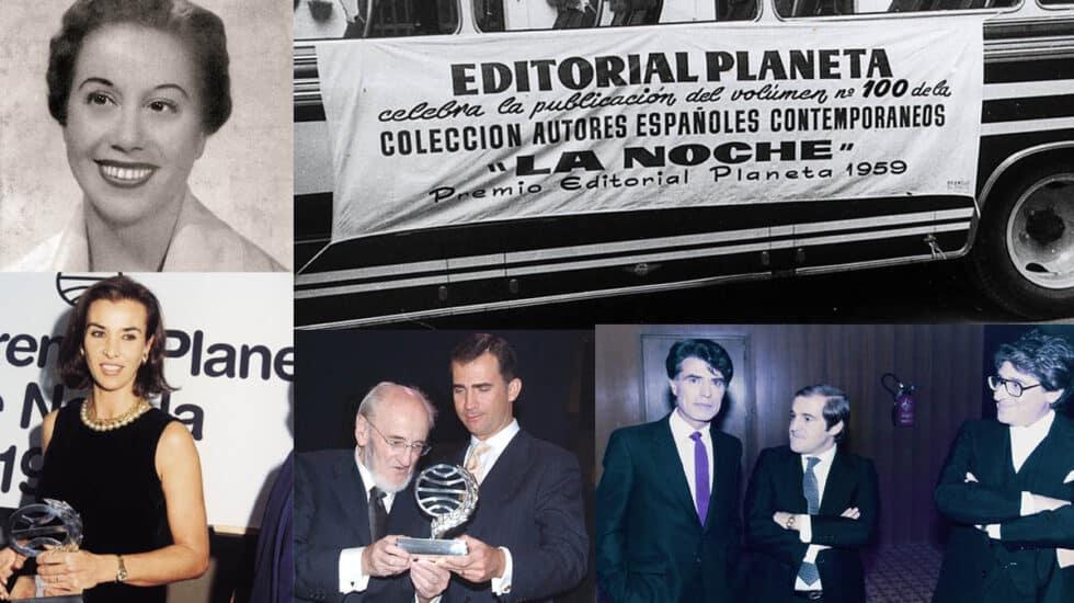 imágenes historicas del Premio Planeta