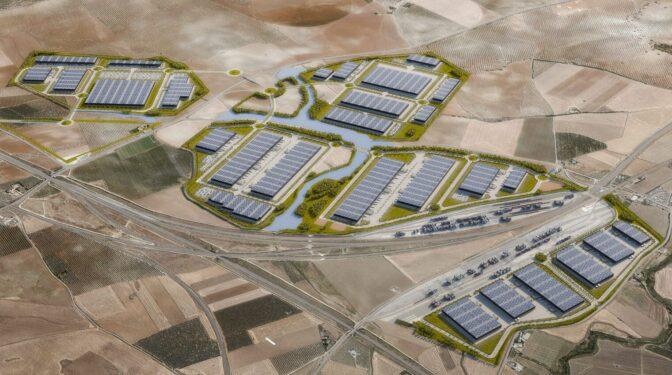 Un puerto sin agua en medio de Andalucía: así será el nuevo gran nodo logístico del sur de Europa