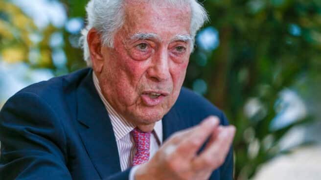 Imagen del escritos Mario Vargas Llosa