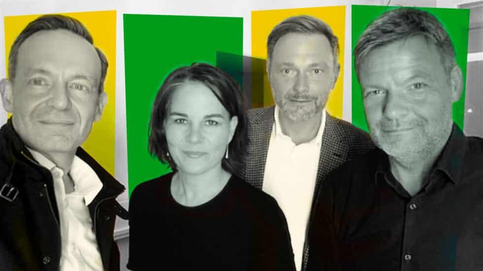 Imagen de verdes y liberales en Alemania juntos